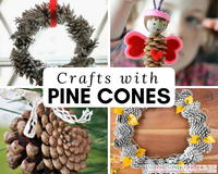 Nature Crafts: 27 Things to Make With Pine Cones