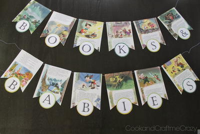 DIY Childrens Book Banner