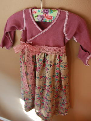 Fancy Newborn Dress Pattern