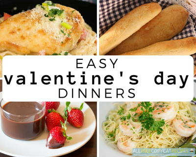 easy valentines day dinners