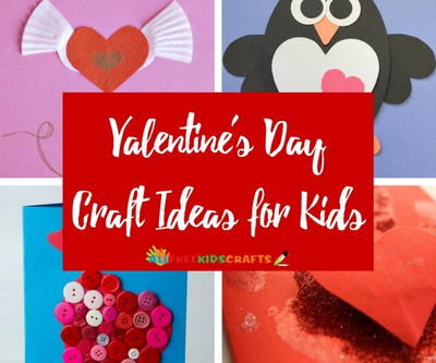 27 Valentine S Day Craft Ideas For Kids Allfreekidscrafts Com