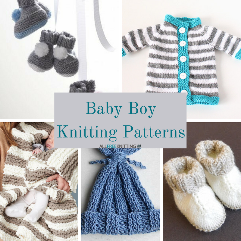 30+ Baby Boy Knitting Patterns | AllFreeKnitting.com