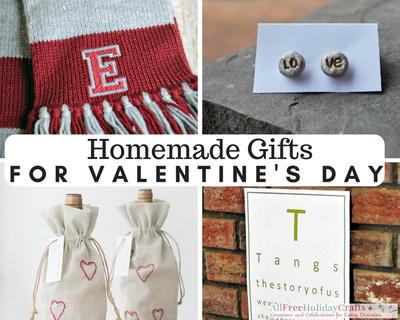 40 Homemade Gift Ideas For Valentine S Day Allfreeholidaycrafts Com