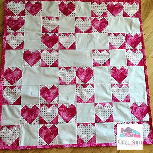 Heartland modern quilt pattern for Modern house quilt pattern