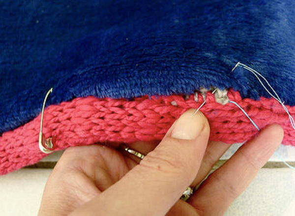 Lining a Blanket with Fleece