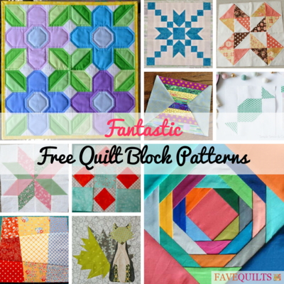 32 Fantastic Free Quilt Block Patterns