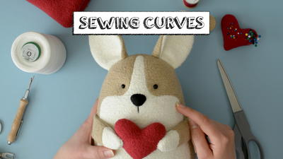 How to Sew Curves on Stuffed Animals