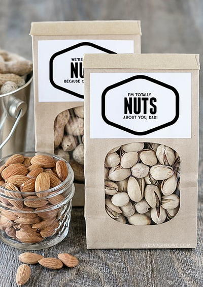 Nuts About You Printables