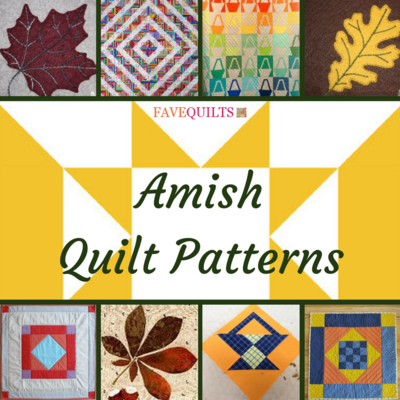 21 Amish Quilt Patterns