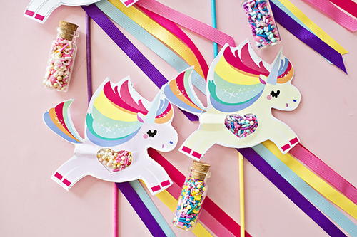 Magical Unicorn Sprinkles Craft