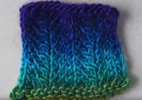 How to Knit Chevron Ripple Stitch