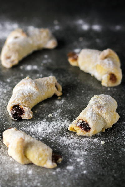 Jam Filled Crescents