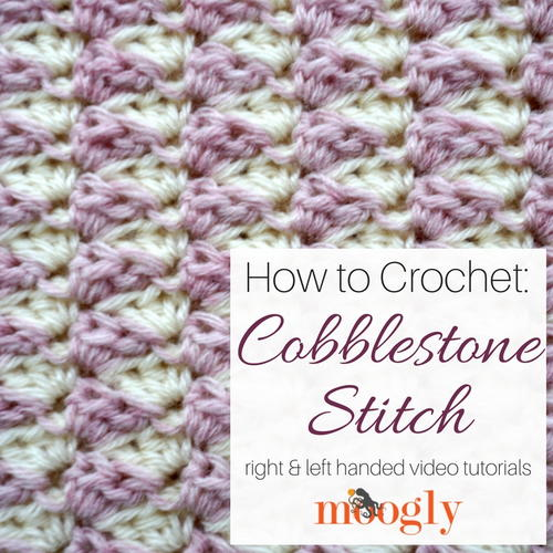 Cobblestone Stitch Tutorial
