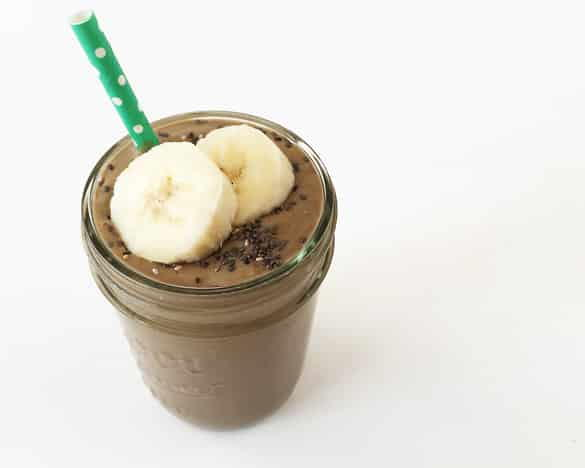Chocolate Peanut Butter Power Smoothie
