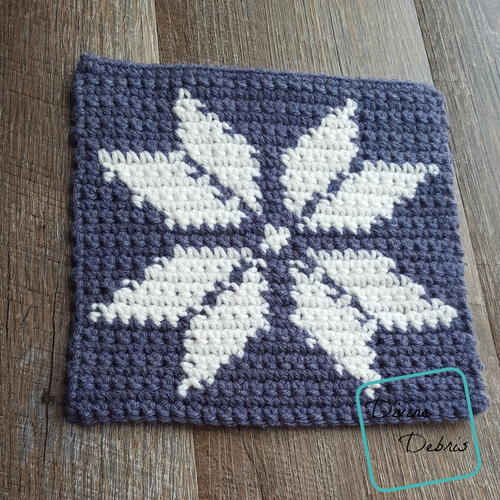 8 Tapestry Snowflake Afghan Square Allfreecrochet