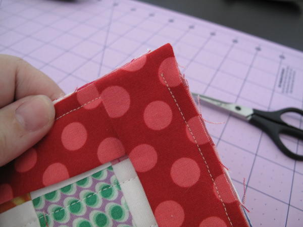 Quilt Binding with a Machine