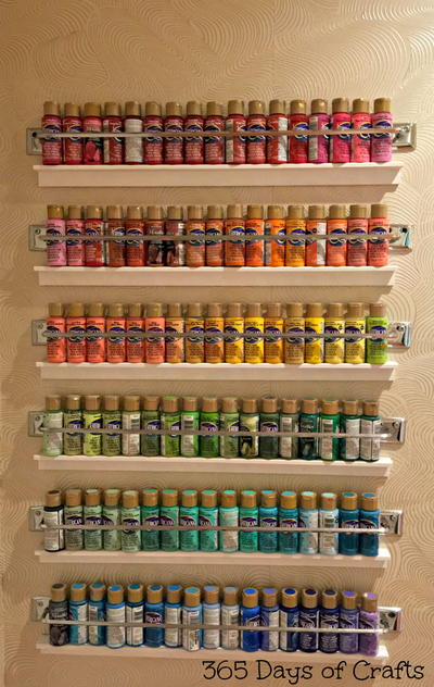 Paint Storage Idea