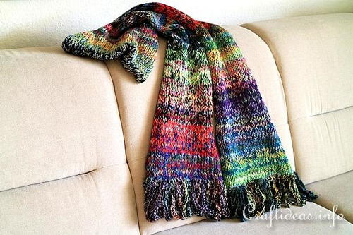 The Scarf of Many Colors