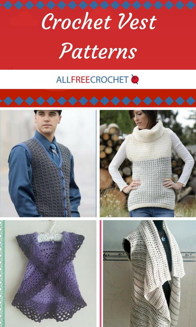 48 Crochet Vest Patterns Allfreecrochet