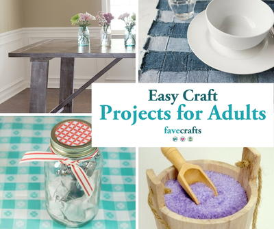 fun craft ideas for adults 44 easy craft projects for adults favecrafts 6611