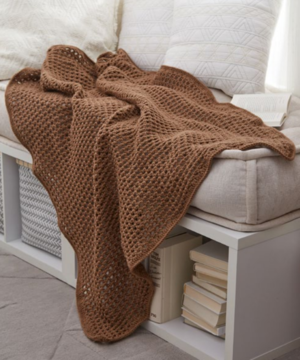 Archways Crochet Throw