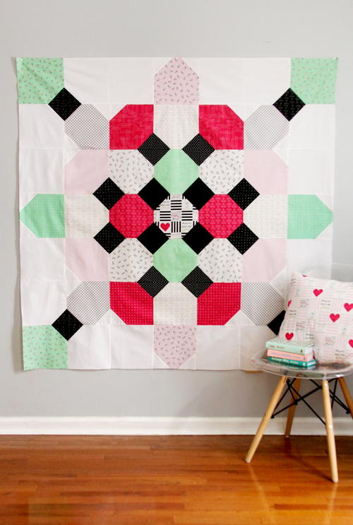 Soda Fountain Quilt Pattern