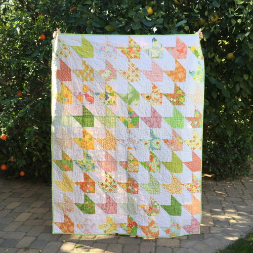 Easiest Ever Arrow Quilt Pattern