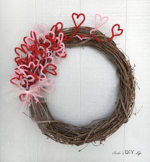 Diy Valentines Day Wreath Favecrafts Com