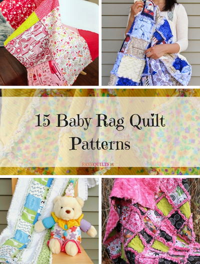 15 Baby Rag Quilt Patterns Favequilts