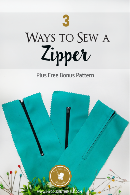 3 Easy Zipper Techniques