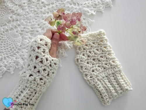 Victoria's Winter Fingerless Gloves
