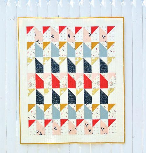Little Houses Baby Quilt Pattern