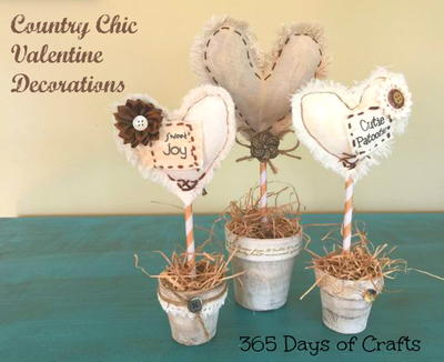 Chic Valentine Decor