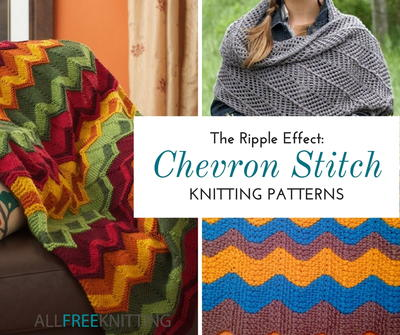 25 Free Chevron Stitch Knitting Patterns Allfreeknitting