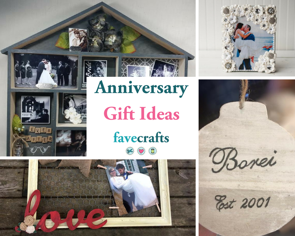 21 Cute DIY Anniversary Gifts for Him or Her | FaveCrafts.com
