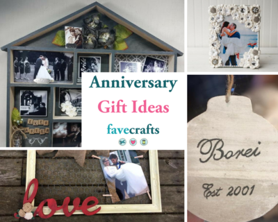 Cute diy anniversary gifts for him or her favecrafts