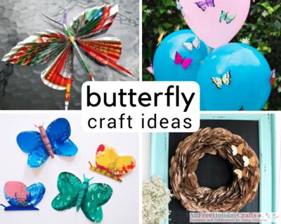 38 Beautiful Butterfly Craft Ideas