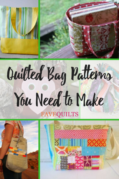 25 Quilted Bag Patterns You Need To Make Favequilts