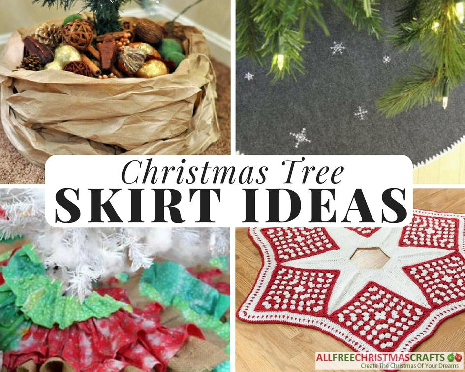 14 homemade christmas tree skirt ideas allfreechristmascraftscom - Extra Large Christmas Tree Skirt
