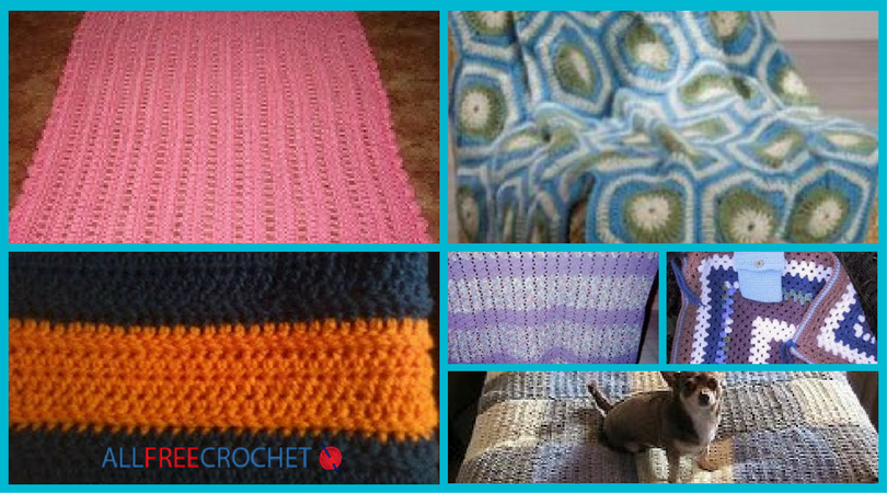 12 Free Crochet Lapghan Patterns | AllFreeCrochet.com