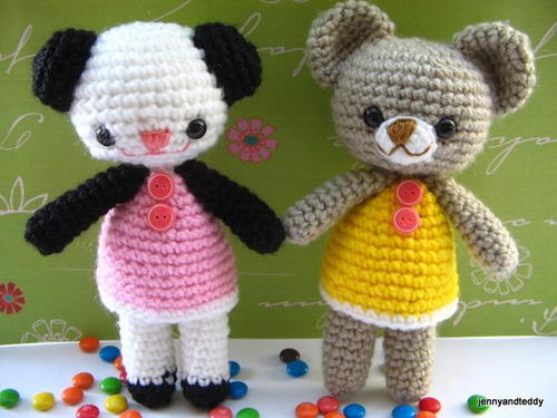 Two Little Bear Amigurumi
