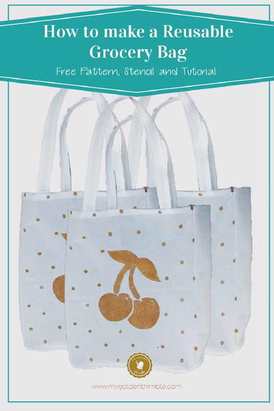 Cute Reusable Grocery Bag