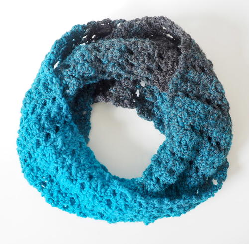 Cobbles and Ladders Infinity Scarf