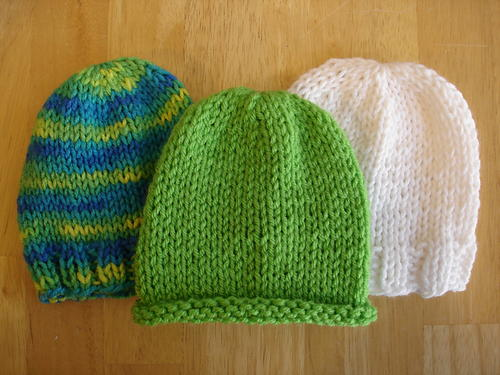 Lickety Split Baby Hats Allfreeknitting