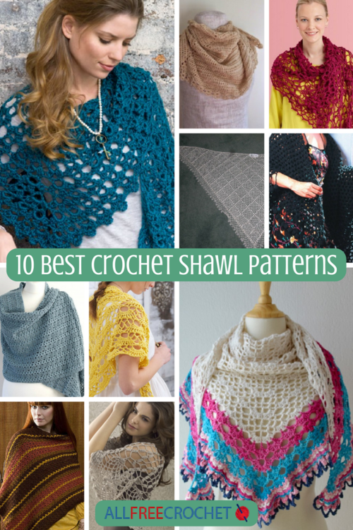 10 Best Crochet Shawl Patterns Allfreecrochet