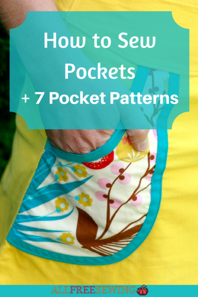 How to Sew Pockets  7 Pocket Patterns