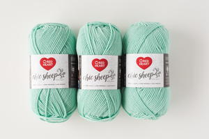 Creme de Mint Chic Yarn Giveaway
