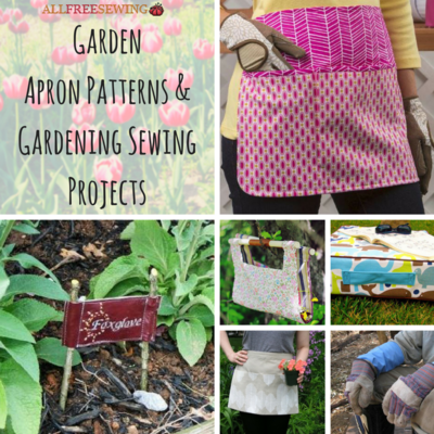 12 Garden Apron Patterns and Gardening Sewing Projects ...