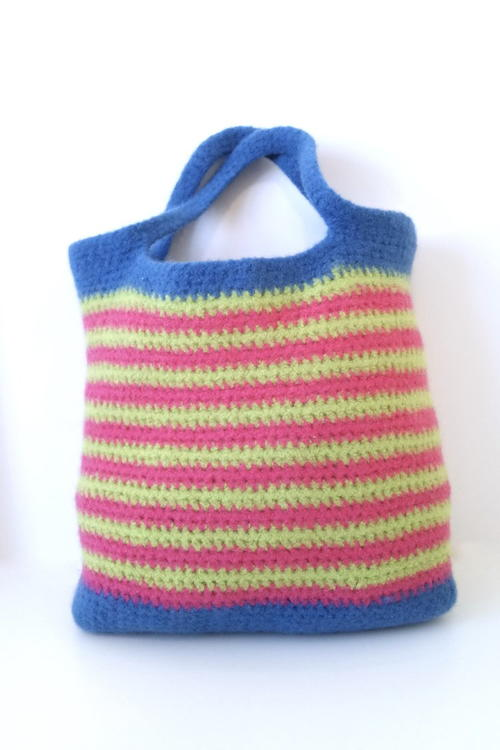 Brave Felted Tote Bag