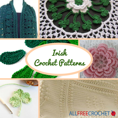 20 Irish Crochet Patterns Allfreecrochet